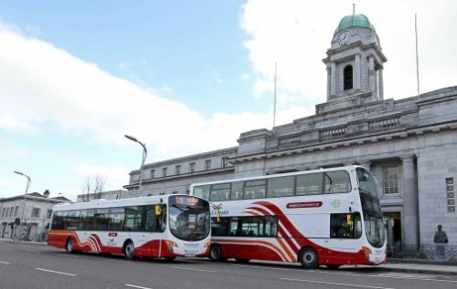 Public transport; buses in Cork