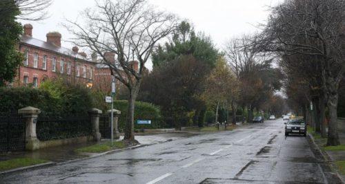 Dublin residential area; removals Dublin