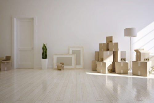 Moving boxes - part of relocation services