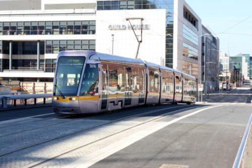 Luas tram Dublin; removals Dublin