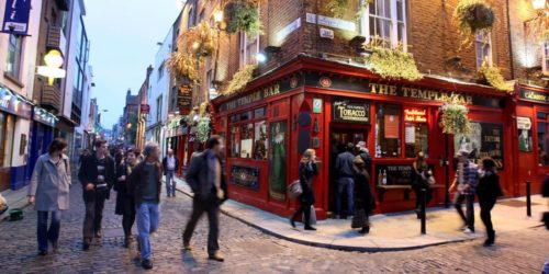 Dublin nightlife; Temple Bar; Removals Dublin