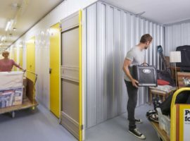 Using storage units for your extra items