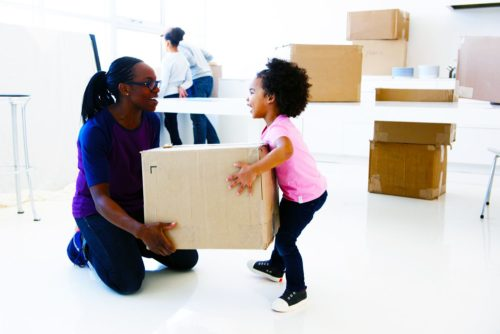 Moving with kids - getting the entire family involved